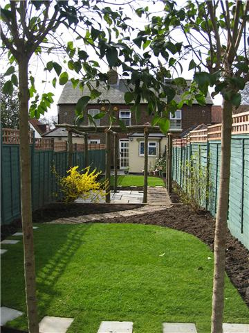 jcgardendesigncom narrow gardensmall garden plansgarden design - Garden Design Long Narrow